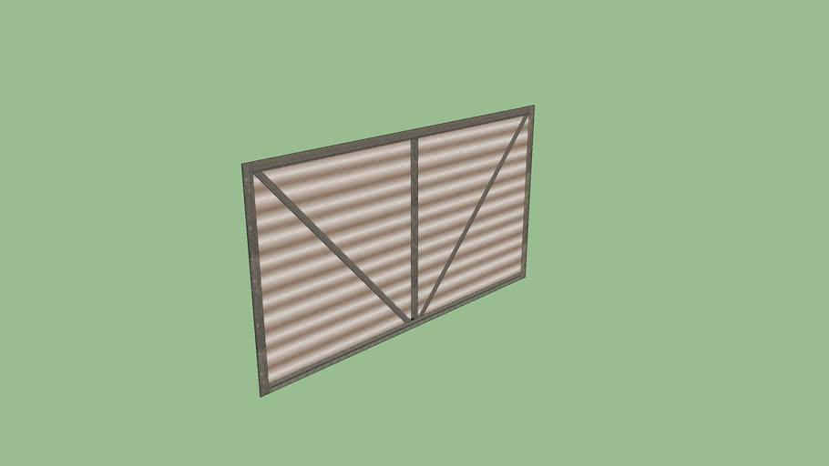 V1.1 Metal Wall - Upper - H1Z1