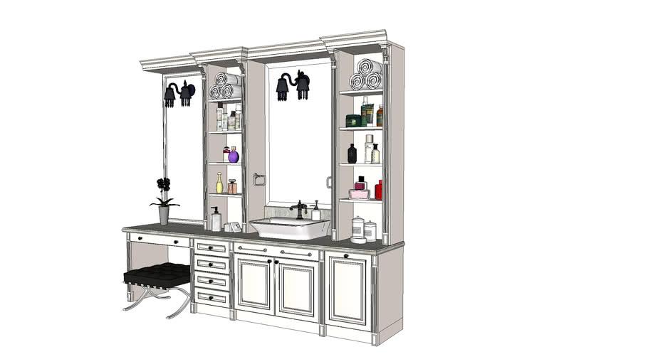 washbasin, shell, commode bathroom, bathroom, умывальник, раковина, комод для ванной