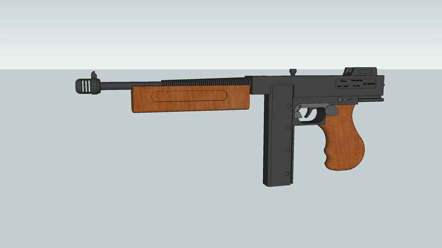 Thomson Submachine Gun