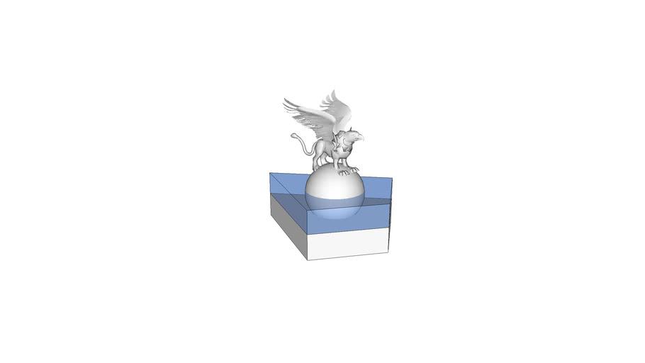 Griffin Statue 1