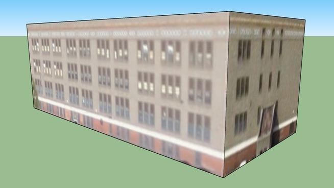 Budynek przy Filadelfia, Pensylwania, Stany Zjednoczone