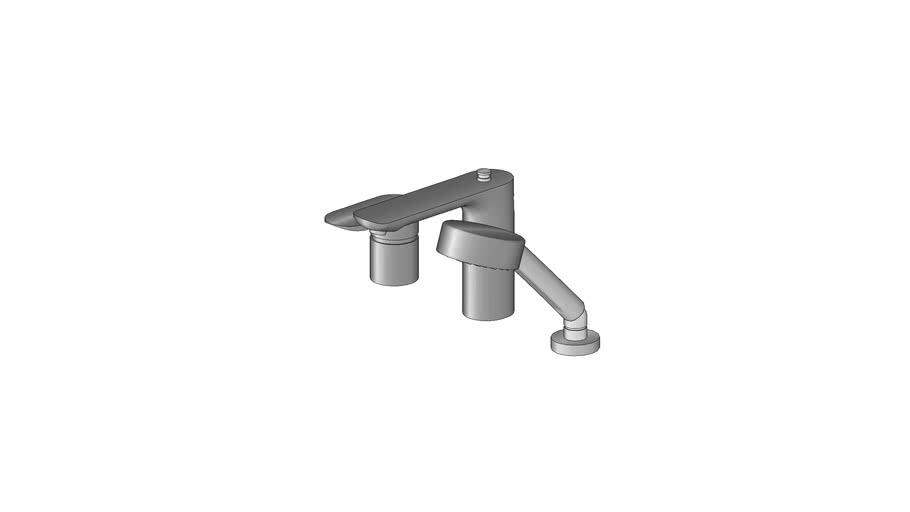 Misturador Monocomando para banheira Aleo Kohler - 72292BR-4-CP