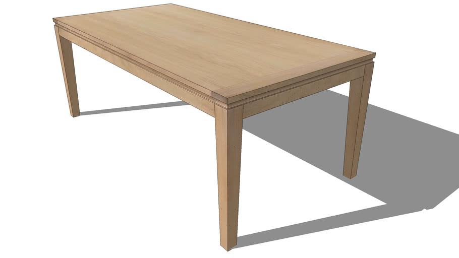 FJORD EXTENDABLE RECTANGULAR TABLE, REF 2246, Michel FERRAND