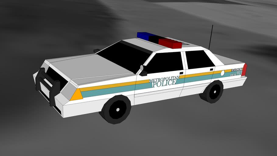 St.Louis Metropolitan Police Car