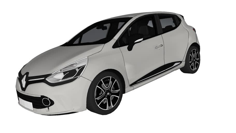 Renault Clio 4 Energy 3d Warehouse