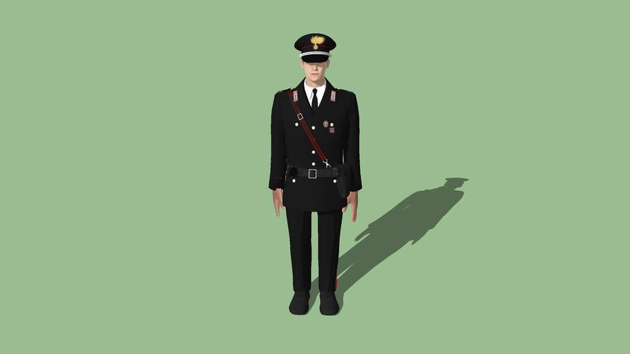 Italy - CCS010 Arma dei Carabinieri - Sottufficiale (ordinaria invernale)