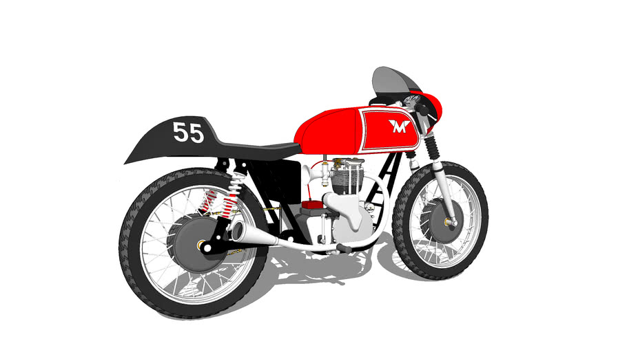 1936 matchless G90 superclub hybrid road racer