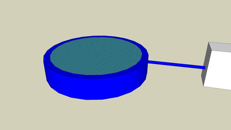 Circular Swimming Pool with Air System