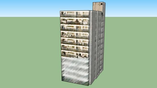 日本, 北海道札幌市的建筑模型
