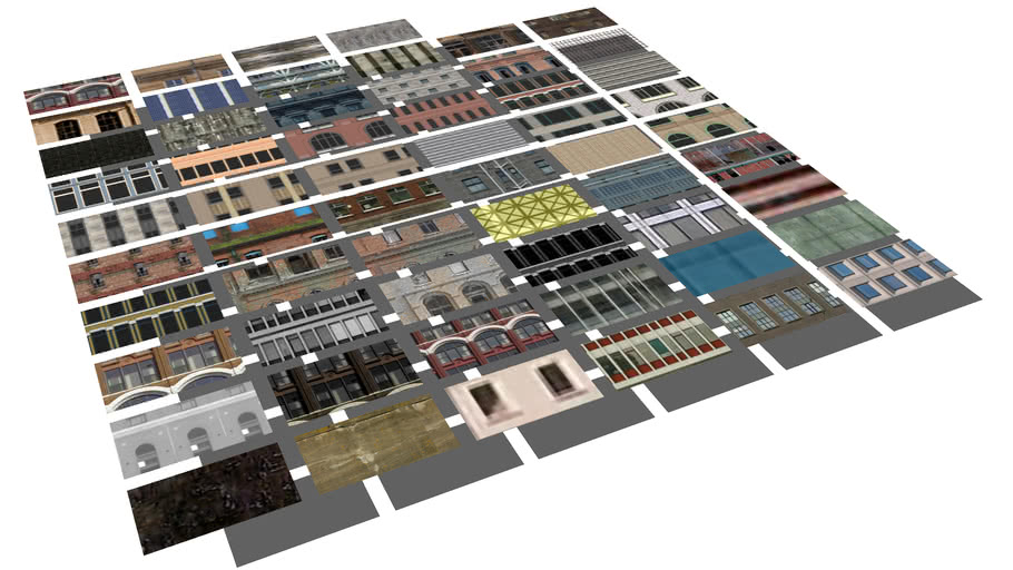 Texture Pack- Old Textures and Old Buildings