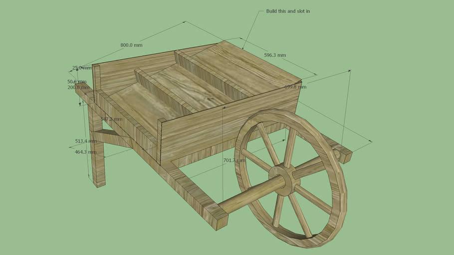 Simple market barrow/cart