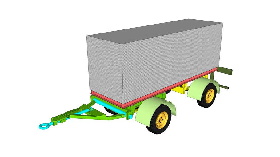 Mobile Generator With Trailer