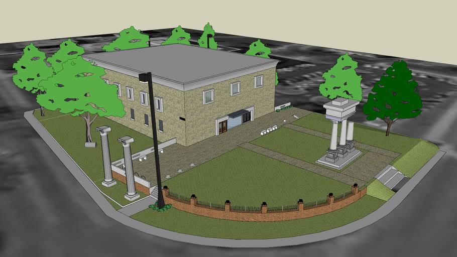 Cobb Hall - Institute of Archelogy, Mississippi State University