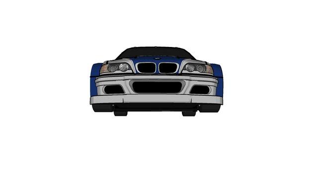 modified BMW M3 coupe