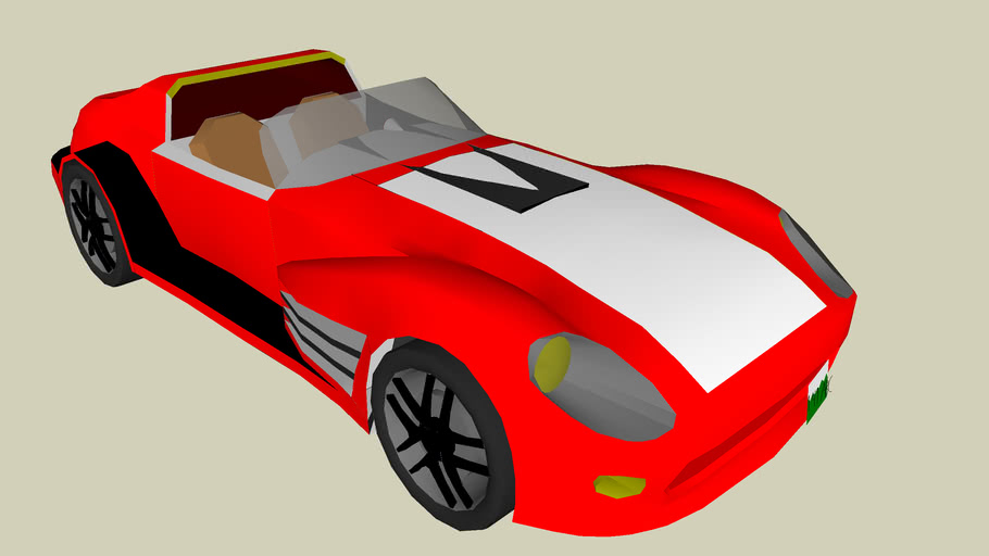 Banshee 2 (Red and white)