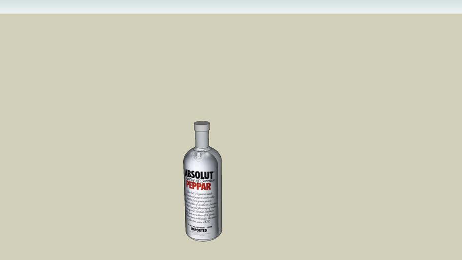 garrafa absolut