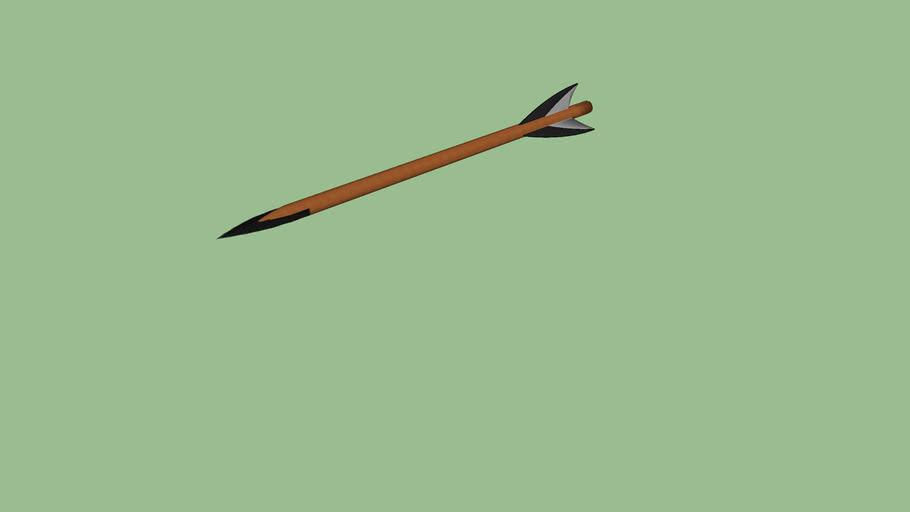 obsidian arrow (detailed)