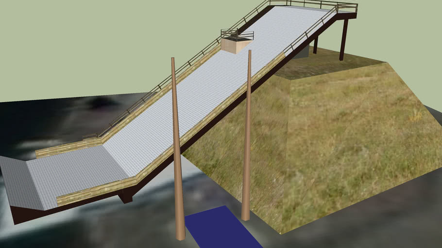 Freestyle Water Ramp
