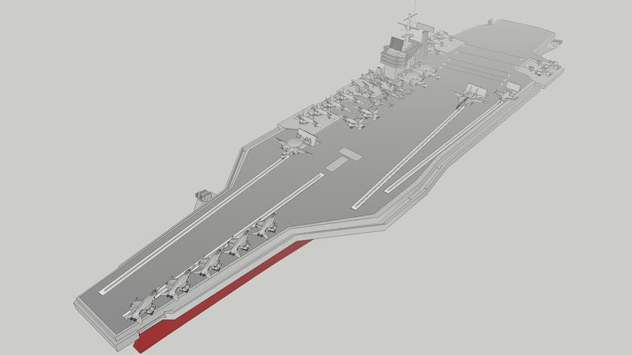 U.S.NAVY Nimitz class aircraft carrier