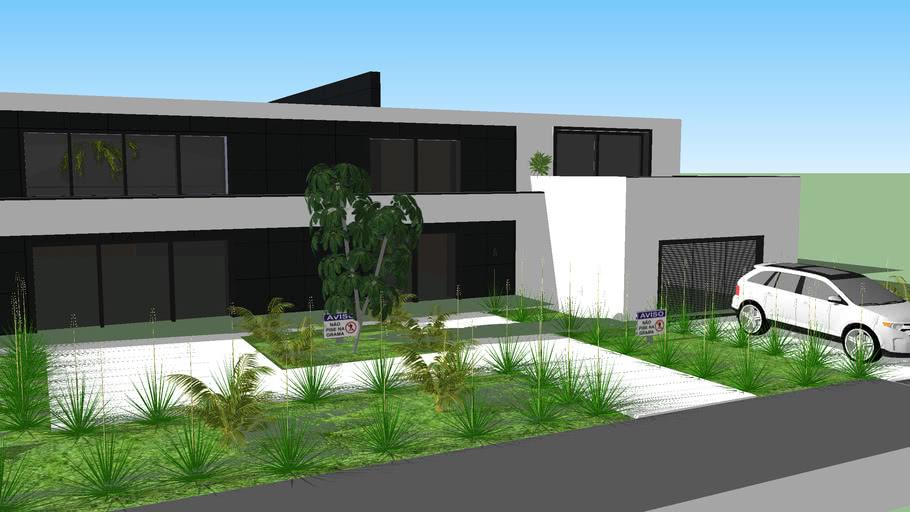CASA MODERNA fechada (de luxo) Modern Home