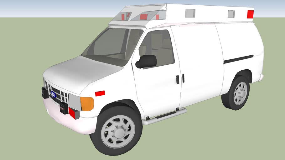 type 2 ambulance ford econoline f 350 Canadian 2002 model