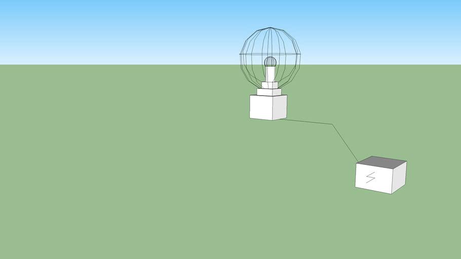Electrostatic bulb  (plasma ball)