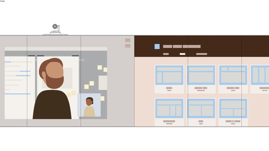 Portrait display Configuration-display-VC