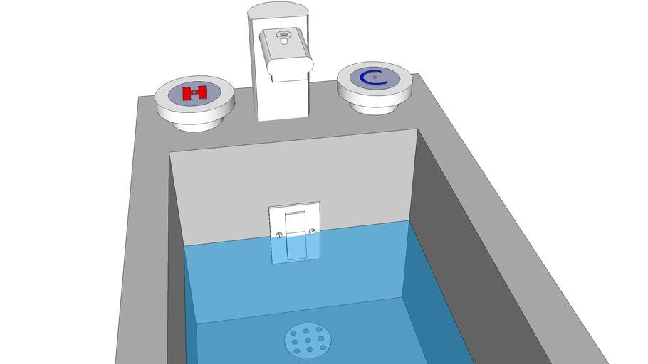 Standard Bathtub (to scale)