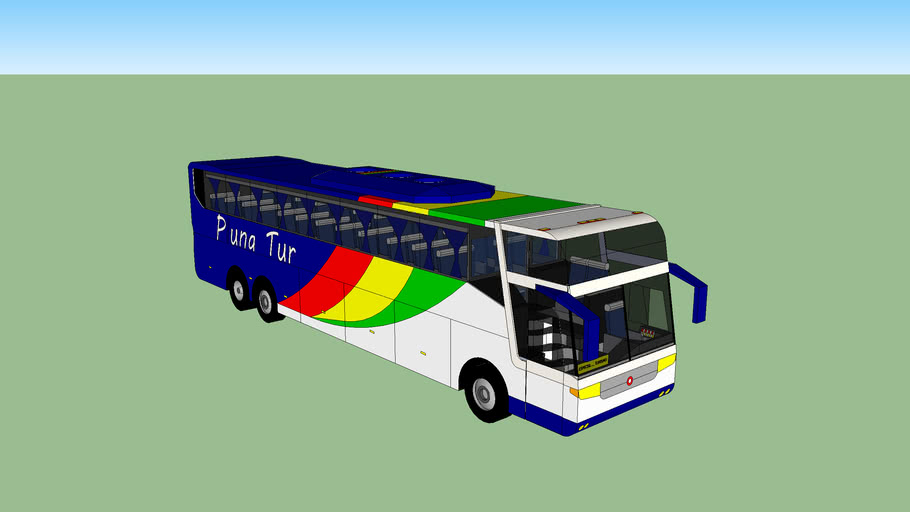 Onibus de Turismo Pluna Tur