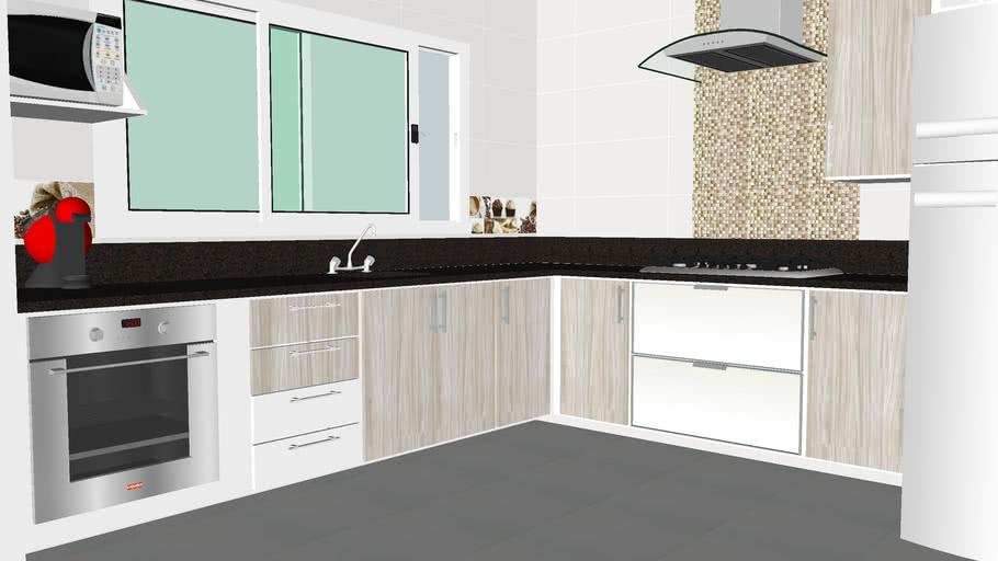 Cozinha Modulada Completa