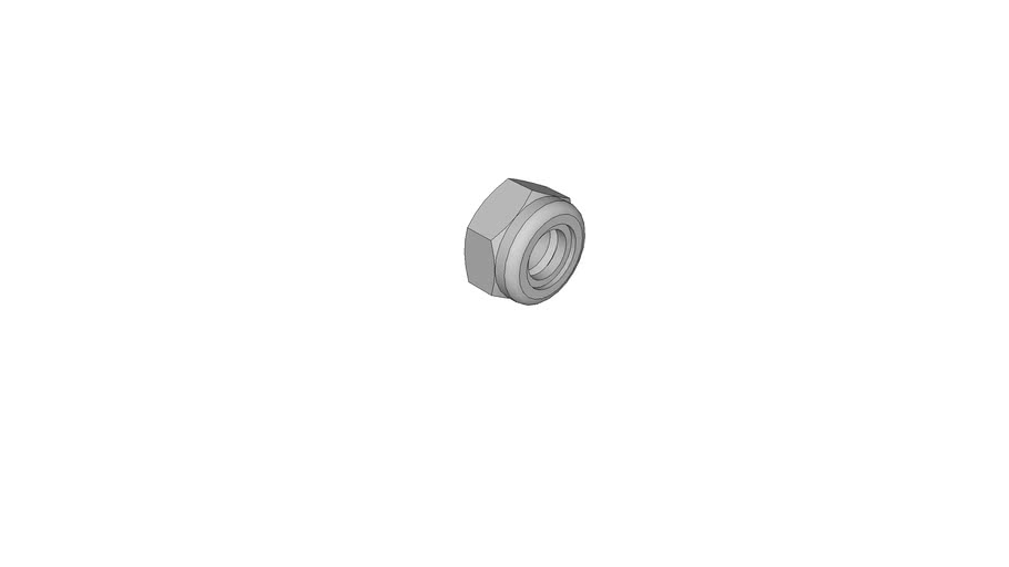 0543007301 Prevailing torque type hexagon nuts with non-metallic inster DIN 985 M10