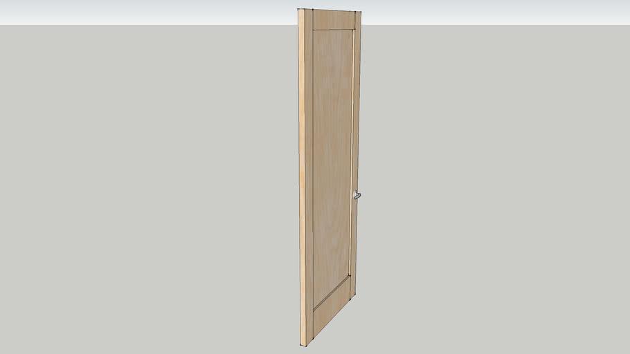 """7'8"""" solid door"""