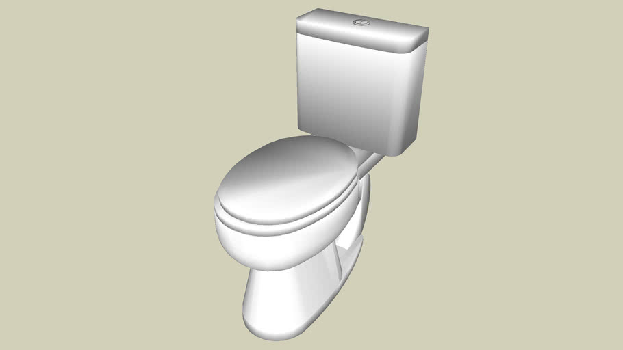 Top flush toilet