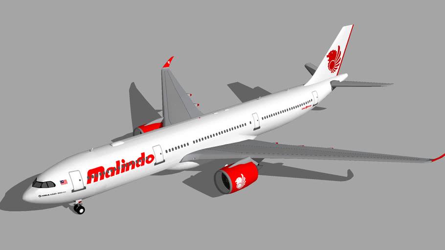 Malindo Air Airbus A330-900neo