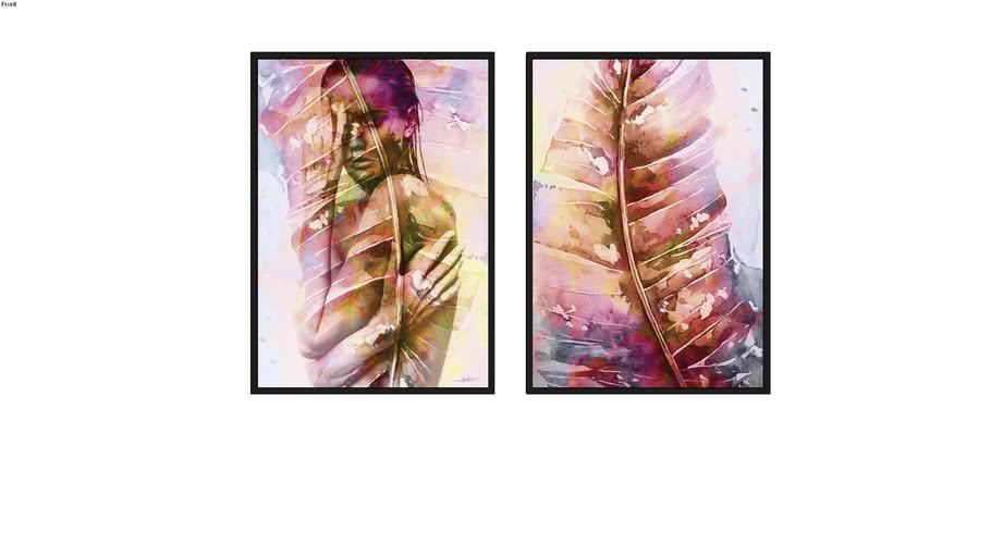 Quadros Filmy Colours I e II