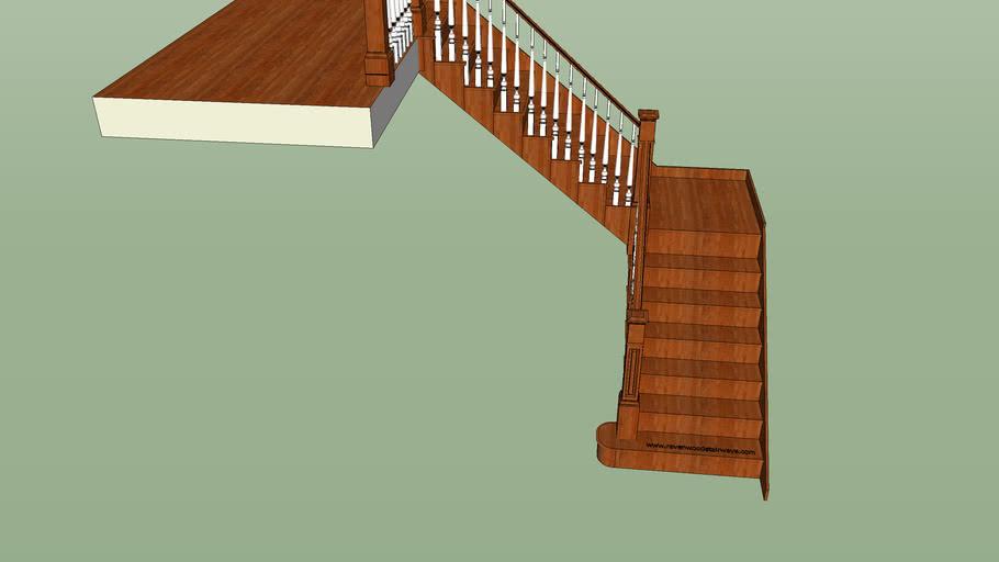 simple l shape staircase 3d warehouse simple l shape staircase 3d warehouse