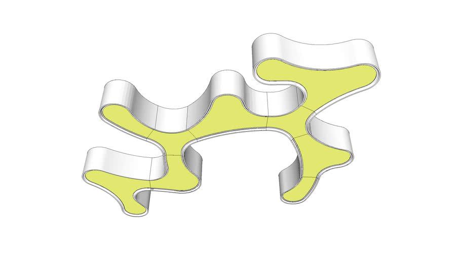 Ameba Pendant by Vibia