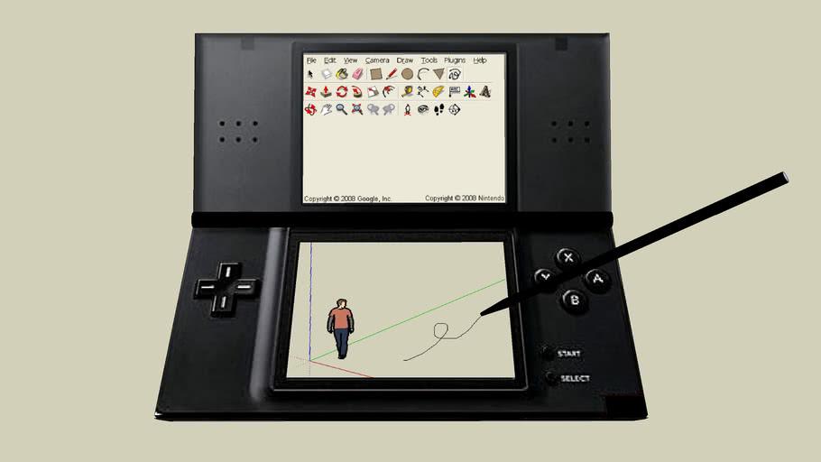 Google SketchUp Nintendo DS Software (READ DESCRIPTION!!)