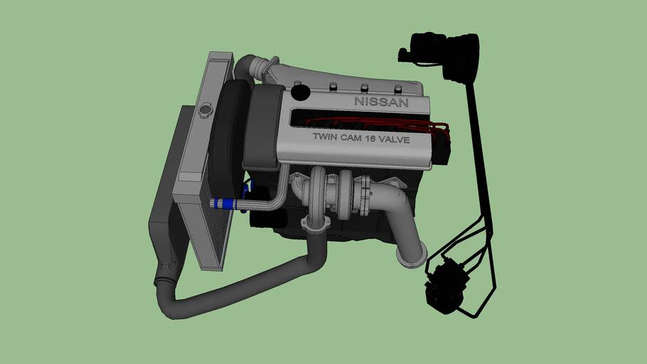 Nissan Twin Cam 16 valve