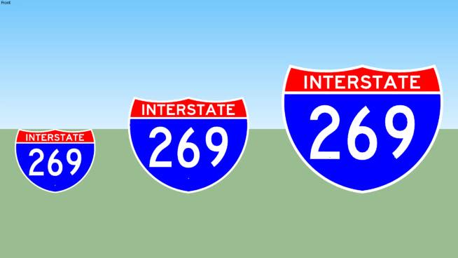 Interstate 269 Sign