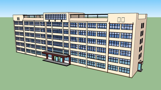 陕西省电子工业学校教学楼