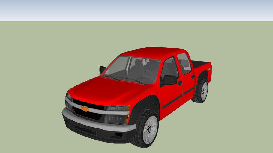 2012 Chevy Colorado 4X4 Crew Cab