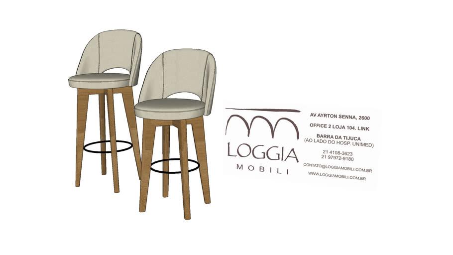 Banqueta Libra TM Loggia Mobili