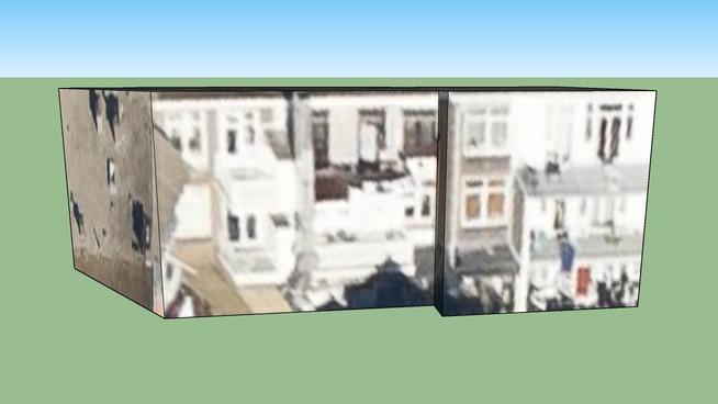 Huizen Stuyvesantplein/St-straat, Den Haag, Nederland