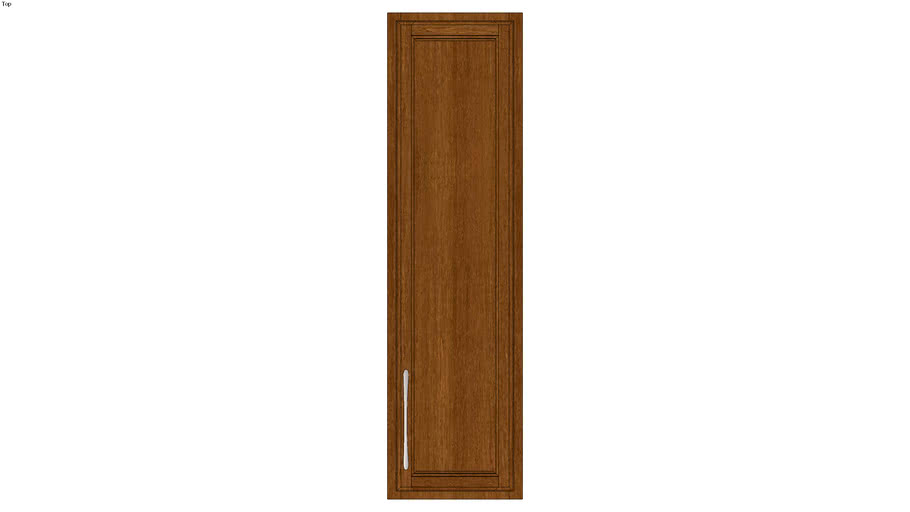 Wall Single Door 54Hx15D