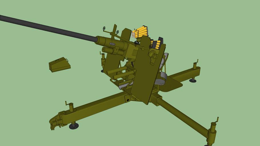 Bofors 40 mm  DCA