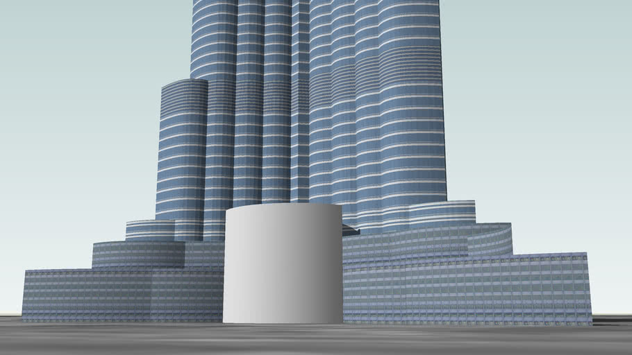 Burj Dubai (Second version)