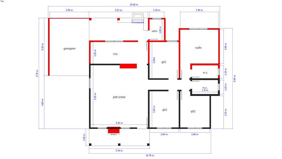 Projeto Casa 50m² Para Ampliar