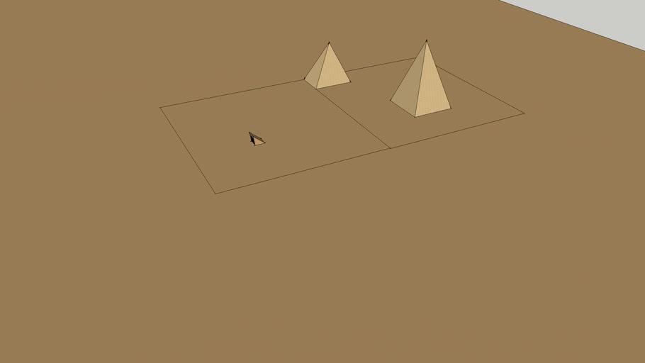 Pyramid w/ Underground Tomb