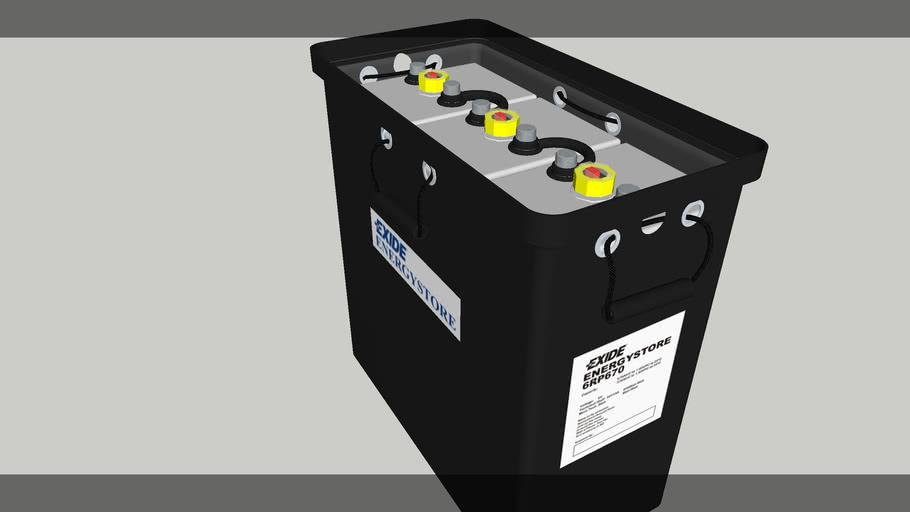 Battery 6v 670ah